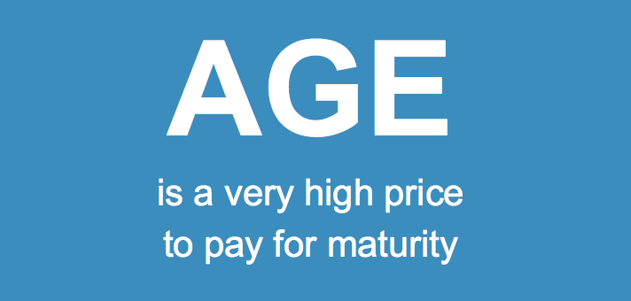 Age high price maturity