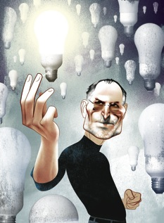 Steve Jobs, by ANDRÉ CARRILHO