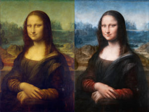Stereoscopic Mona Lisa